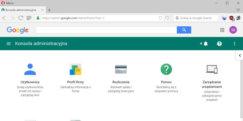 G Suite - Google Apps dla firm
