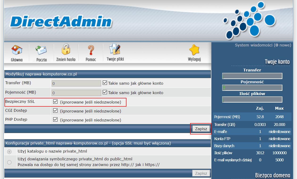 Bezpieczny SSL