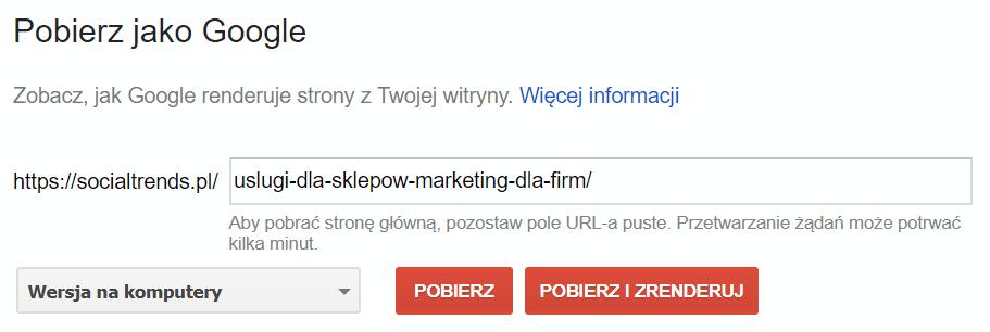 Pobierz jako Google