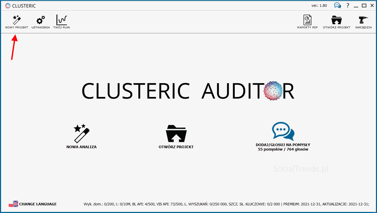Clusteric Search Auditor